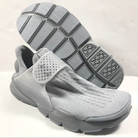 premium selection 298df 7f886 Nike Sock Dart KJCRD Shoes Wolf Grey Size 8